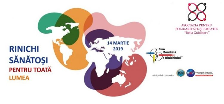 Ziua Mondială a Rinichiului 14 Martie